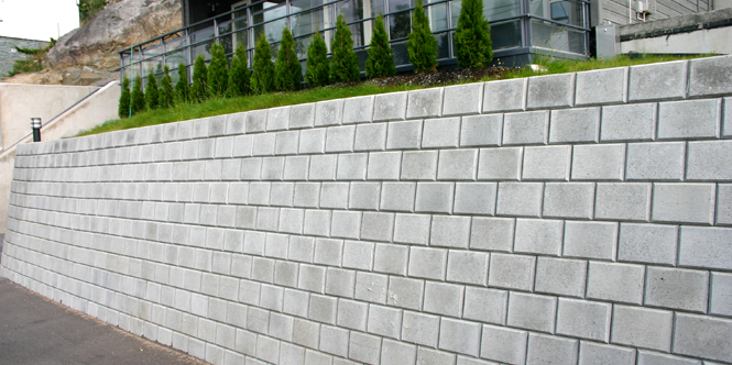 Dimensjonering støttemur
