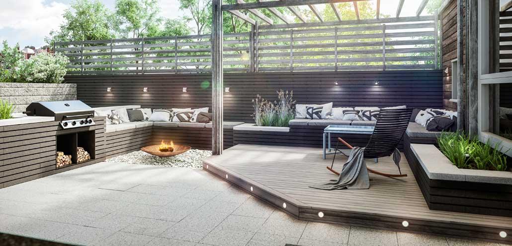 Hage & terrasse Asak Milj?stein Terrasse Inspirasjon/bilder ...